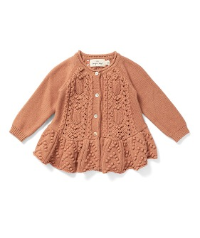 Cabby Frill Cardigan - Rush ★ONLY 5-6Y★
