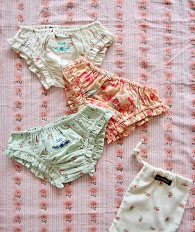 Girl Panty pack (3pc) - Flower #S21PANTPK