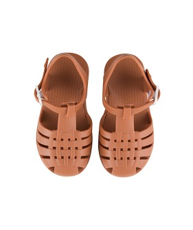 ◆3DROP◆  Jelly Sandals - Nut Brown