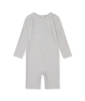 Aster Unisex UV Suit - Light Blue Stripe