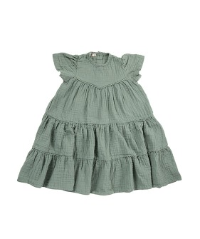 Laura Mexi Dress - Green
