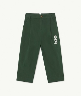 Emu Kids Trousers - Deep Green Tao  (F21120)