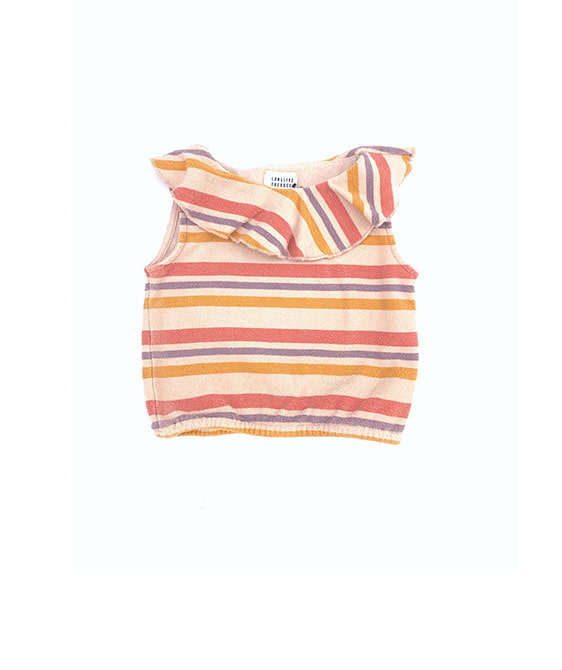 Terry Top (445) - Stripe
