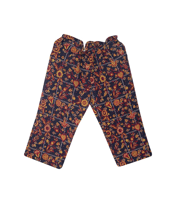Jacquard Trousers - One Color