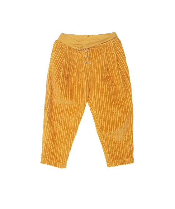 Corduroy Vintage Trousers - Mustard ★ONLY 10Y★