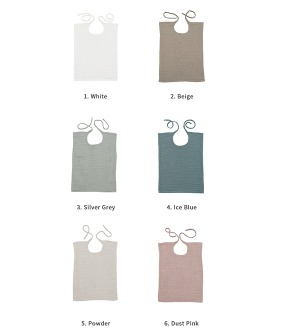Baby Bibs Square  - 6 colors