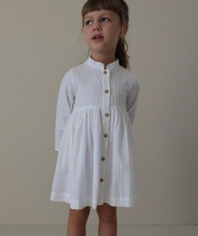 Marta Dress - Petite Fleur Long Sleeve