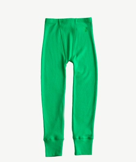 Rib Legging - Classic Green_MS026