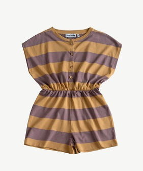 Playsuit - Oak Bull Stripe_MS036