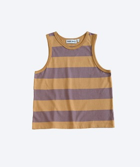 Vest - Oak Bull Stripe_MS063