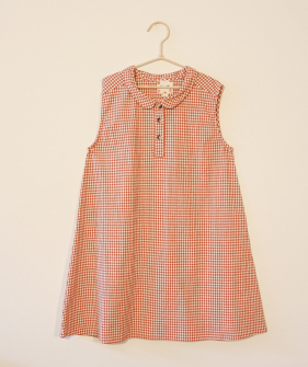 Vichy Dress - Sunset