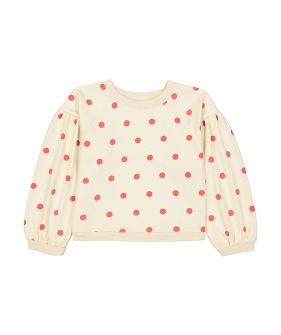 Sam Sweatshirt  - Dots Red ★ONLY 4Y★