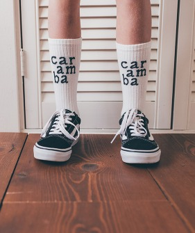 Socks sport Caramba - Summer white ★ONLY 16/18★