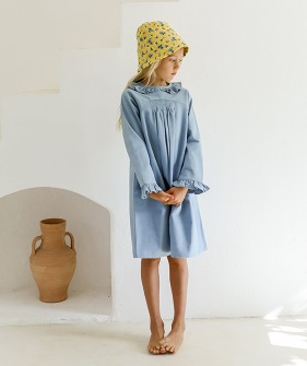 Ghani Dress - Swedish Blue