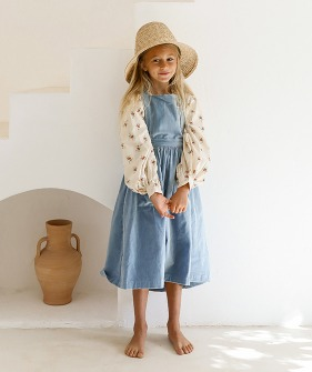 Valerian Dress  - Swedish Blue