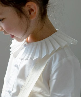 Pleated Detail Shirt - White