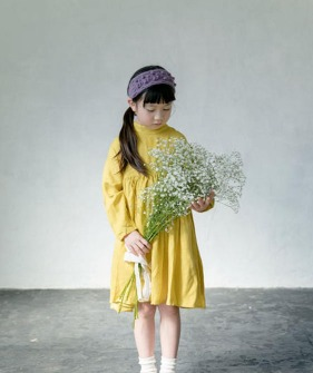 2way Bow Dress - Yellow