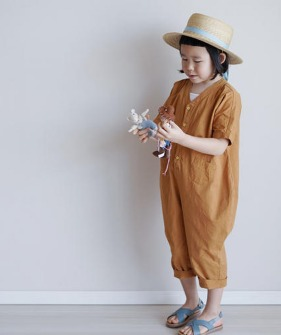 Cotton Jumpsuit - Punpkin