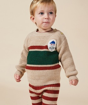 Boy Patch Jumper (Baby) #00042 ★ONLY 18-24M★