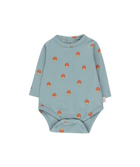 """Mushrooms"" Body - Warm Grey/Red ★ONLY 18M★"
