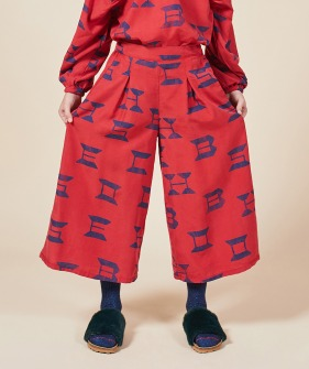 Bobo Choses All Over Woven Culotte Pants #01090 ★ONLY 8-9Y★