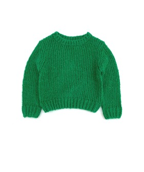 Rough Sweater #20208 - Green