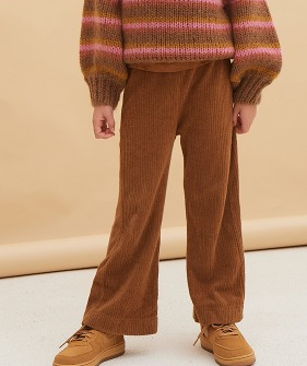 Flared Pants #20211 - Golden Brown