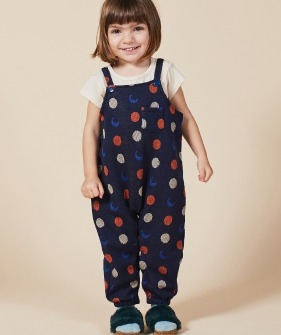 Night Knitted Jacquard Overall (Baby) #00082 ★ONLY 18-24M★
