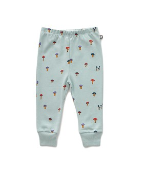 Baby Leggings  - Sky Grey