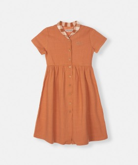 Caspio Dress - Orange