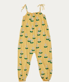 Overall (TC-SS21-57) - Flowers Yellow Jumpsuit ★ONLY 6Y★