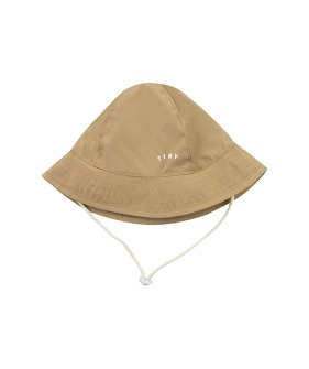 ◆2DROP◆ Tiny Solid Bucket Hat - Sand ★ONLY M★