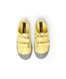 Star Master Kid Velcro - Citron/Grey
