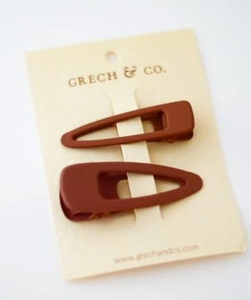 Matte Clips (Set Of 2) - Spice