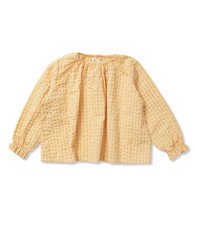 Acacia Blouse - Yellow Check