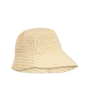 Acacia Sunhat - Yellow Check