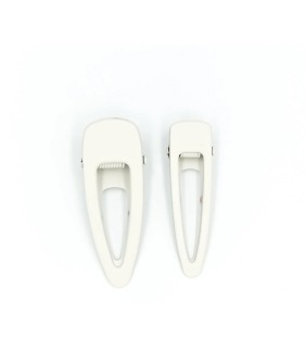 Matte Clips (Set Of 2) - Buff