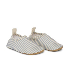 Aster Swim Shoes - Light Blue Stripe