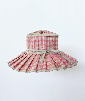 Child's Capri Hats - Pink Scallop | Island