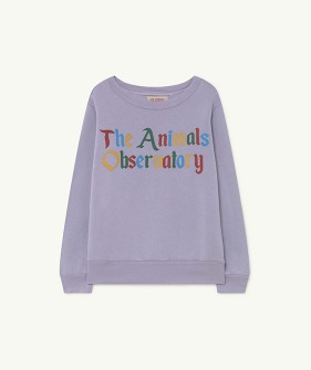 Bear Kids+ Sweatshirt - Soft Purple The Animals (F21050)
