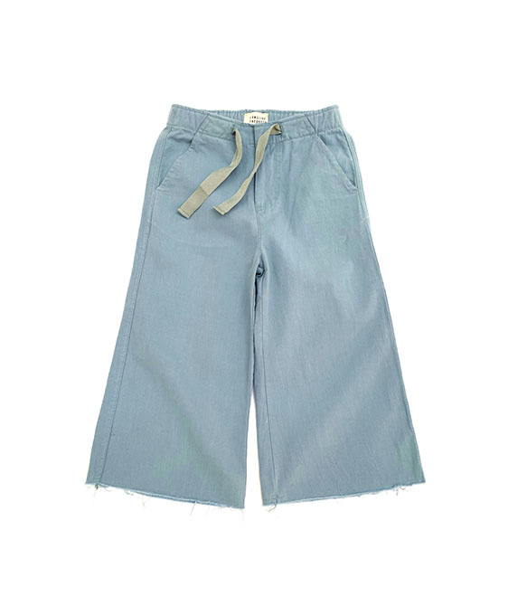Canvas Pants (474) - Blue Canvas ★ONLY 4Y★